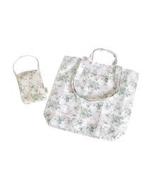 トートバッグ バッグ LAURA ASHLEY(ローラアシュレイ)Market tote & pouch S blossom  トートバッグ&ポーチ|ZOZOTOWN PayPayモール店