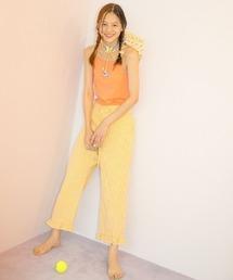 パンツ LittleSunnyBite/リトルサニーバイト/check pants|ZOZOTOWN PayPayモール店