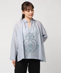 シャツ ブラウス シャドウ刺繍ブラウス|ZOZOTOWN PayPayモール店