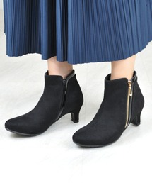 ブーツ 【vanitybeauty】<2020AW>飾りファスナー ショートブーツ|ZOZOTOWN PayPayモール店