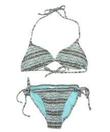 水着 【VOLCOM】サマービーチファッション -WildDaze Triangle&TieSide Full- ボルコムセットアップ2点セットビキニ ZOZOTOWN PayPayモール店