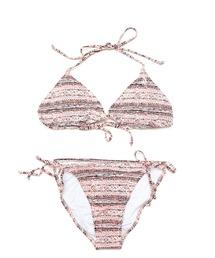 水着 【VOLCOM】サマービーチファッション -WildDaze Triangle&TieSide Full- ボルコムセットアップ2点セットビキニ|ZOZOTOWN PayPayモール店