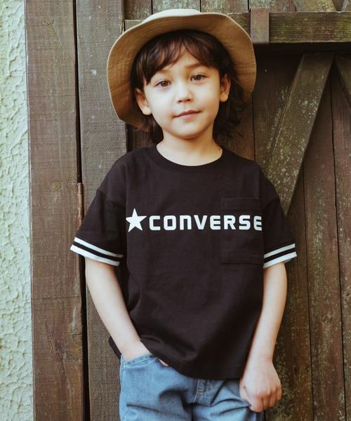 tシャツ 出色 Tシャツ CONVERSE コンバース ポケット付き半袖Tシャツ 別倉庫からの配送