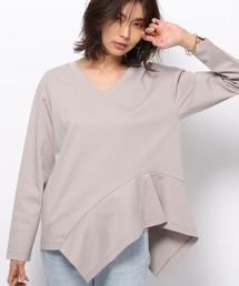 tシャツ Tシャツ BARNYARDSTORM / Jクォリティモック裾フリルプルオーバー|ZOZOTOWN PayPayモール店