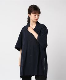 シャツ ブラウス DETAILS/サイドファスナールーズオープンカラーシャツ|ZOZOTOWN PayPayモール店