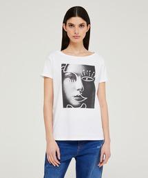 tシャツ Tシャツ ワイドネックプリントTシャツ・カットソー|ZOZOTOWN PayPayモール店