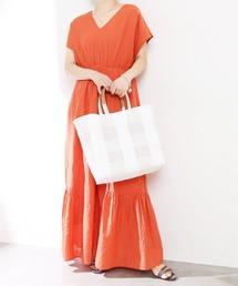 ドレス 【NE QUITTEZ PAS/ヌキテパ 】ドビーVネックドレス【手洗い可能】◆|ZOZOTOWN PayPayモール店
