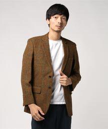 ジャケット テーラードジャケット Harris Tweed ハリスツイード メンズ ウールジャケット|ZOZOTOWN PayPayモール店