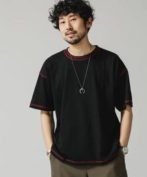 tシャツ Tシャツ 《WEB限定》カラーダブルステッチワイドTシャツ ZOZOTOWN PayPayモール店