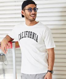 tシャツ Tシャツ ロゴ オーバーサイズ  クルーネック 半袖 Tシャツ / グラフィック アート/カレッジ ロゴ カットソー|ZOZOTOWN PayPayモール店