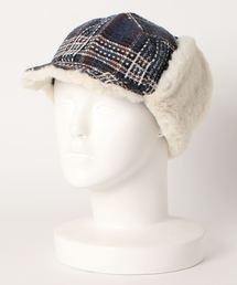 帽子 キャップ Lovable Tweed CK Flap Cap|ZOZOTOWN PayPayモール店