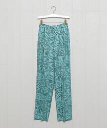 パンツ <H>WAVE PRINT 3TUCK PANTS/パンツ|ZOZOTOWN PayPayモール店