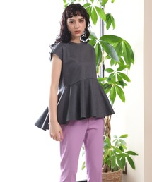 tシャツ Tシャツ 【WEB限定】360°美しいシルエット裾フリルカットソー ZOZOTOWN PayPayモール店