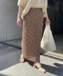 スカート プリントワッシャーストレートスカート|ZOZOTOWN PayPayモール店