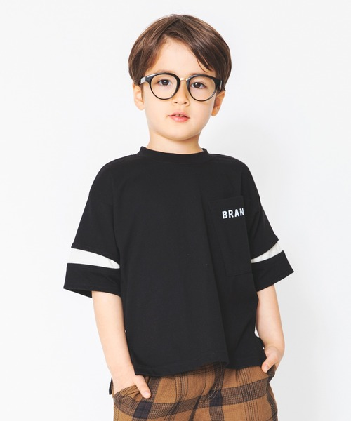 安い tシャツ 新品未使用 Tシャツ 接触冷感 ポケット付き袖切り替え半袖Tシャツ
