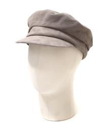 帽子 キャスケット KIJIMA TAKAYUKI / キジマタカユキ:Suede Marin Cap:スエードマリンキャップ:W-172743[AN|ZOZOTOWN PayPayモール店