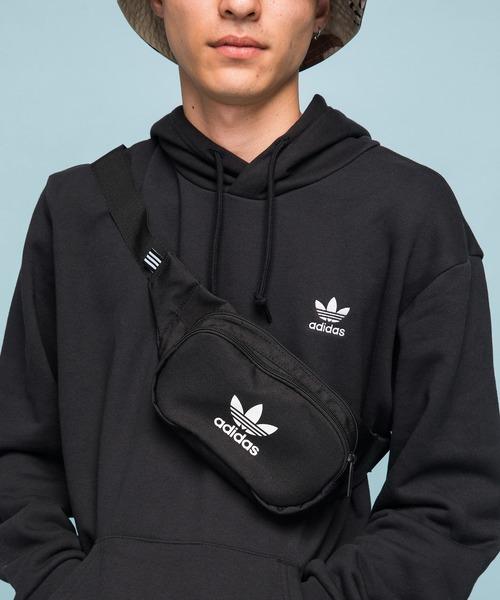 バッグ ファッション通販 新着セール ウエストポーチ アディダスオリジナルス クロスボディバッグ