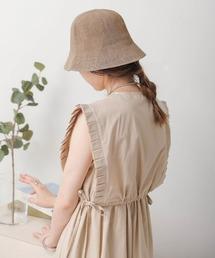 帽子 ハット 【WEB限定】リネンタッチバケットハット|ZOZOTOWN PayPayモール店