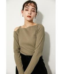 tシャツ Tシャツ ONE SHOULDER CUT RIB TOPS|ZOZOTOWN PayPayモール店