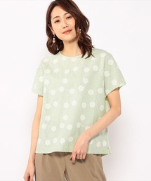 tシャツ Tシャツ コットンリネン刺繍プルオーバー|ZOZOTOWN PayPayモール店