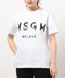 tシャツ Tシャツ MSGM/エムエスジーエム/ジェルロゴTシャツ|ZOZOTOWN PayPayモール店