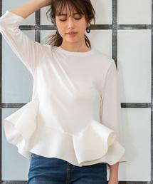 tシャツ Tシャツ アシンメトリーフレアトップス|ZOZOTOWN PayPayモール店