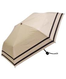 折りたたみ傘 完全遮光晴雨兼用 makez.マケズ コンパクト折りたたみ傘 2本ライン ZOZOTOWN PayPayモール店