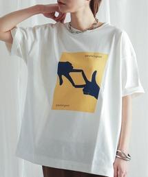 tシャツ Tシャツ ハンドプリント クルーネックTシャツ|ZOZOTOWN PayPayモール店