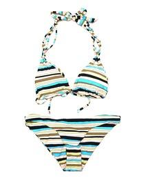 水着 【VOLCOM】サマービーチファッション -Salty Air Tri & Full- ボルコムセットアップ2点セットビキニ|ZOZOTOWN PayPayモール店