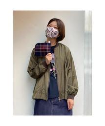 ポーチ バラプリント立体布洗えるマスク&マスクケースセット|ZOZOTOWN PayPayモール店
