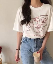 tシャツ Tシャツ lalaBorn/ラインアートTシャツ ZOZOTOWN PayPayモール店