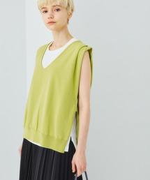 tシャツ Tシャツ 【STUDIOUS】サマーニットレースアップベスト|ZOZOTOWN PayPayモール店