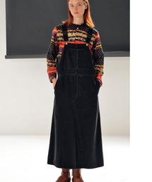 ワンピース ジャンパースカート ソフトタッチデニムジャンスカ|ZOZOTOWN PayPayモール店