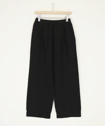 パンツ [Brocante / ブロカント] リネンキャンバス ピジャマパンツ|ZOZOTOWN PayPayモール店