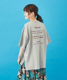 tシャツ Tシャツ 天竺 汗ジミ防止加工 ロゴプリント ビッグTシャツ|ZOZOTOWN PayPayモール店