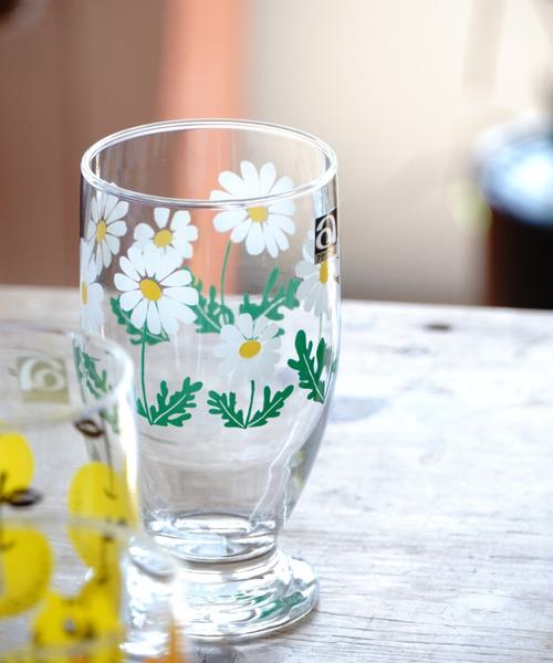 食器 〈アデリアレトロ〉アデリア レトロ 信託 ガラスコップ 台付きグラス 定番から日本未入荷