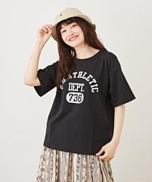 tシャツ Tシャツ OE天竺 カレッジプリントTシャツ|ZOZOTOWN PayPayモール店