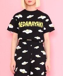 tシャツ Tシャツ 目玉焼き総柄Tシャツ ZOZOTOWN PayPayモール店