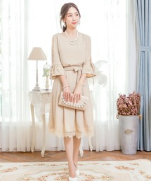 ドレス ツーピースAラインドレス|ZOZOTOWN PayPayモール店