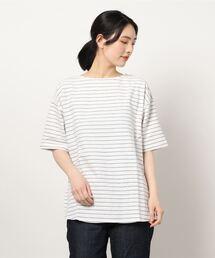 tシャツ Tシャツ ヘリンボーンボートネックプルオーバー|ZOZOTOWN PayPayモール店