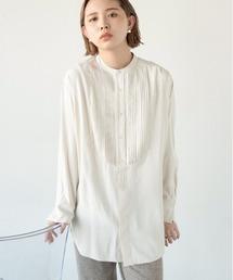 シャツ ブラウス ボザムピンタックドレスシャツ|ZOZOTOWN PayPayモール店