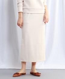 スカート 【ウォッシャブル】リラックスサイドスリットスウェットスカート ZOZOTOWN PayPayモール店