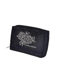 ポーチ LAURA ASHLEY (ローラアシュレイ) Square pouch EMB adeline navy ポーチ|ZOZOTOWN PayPayモール店