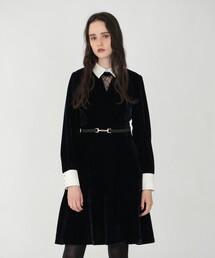 ワンピース クラッシュ ベルベット ドレス ZOZOTOWN PayPayモール店