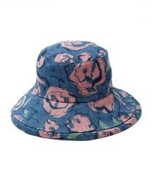 帽子 ハット ogura akane x little sunny bite Floral print denim hat|ZOZOTOWN PayPayモール店