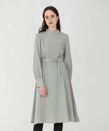 ワンピース ハイネック ドレープ ドレス ZOZOTOWN PayPayモール店