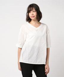 tシャツ Tシャツ モスリン裾ボリュームプルオーバー|ZOZOTOWN PayPayモール店