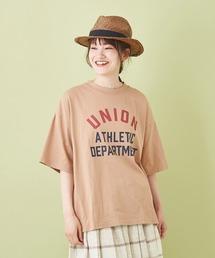 tシャツ Tシャツ OE天竺 ハードウォッシュ カレッジプリントTシャツ|ZOZOTOWN PayPayモール店