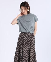 tシャツ Tシャツ 《Masion de Beige》ロゴTシャツ《マシュふわ(R)》|ZOZOTOWN PayPayモール店