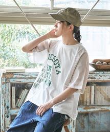 tシャツ Tシャツ リサイクル天竺 × 布帛 リメイク風Tシャツ|ZOZOTOWN PayPayモール店